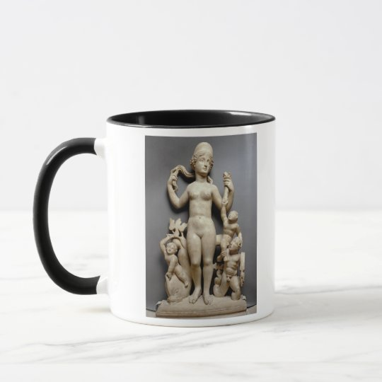 Venus with putti, a triton and a dolphin, Roman, 4 Mug