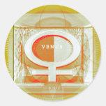 Venus - Women are from Venus Stickers