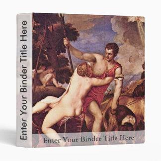 Venus y Adonis, por Tizian