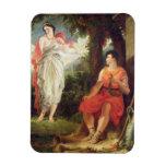 Venus y Anchises, 1826 (aceite en lona) Imán De Vinilo