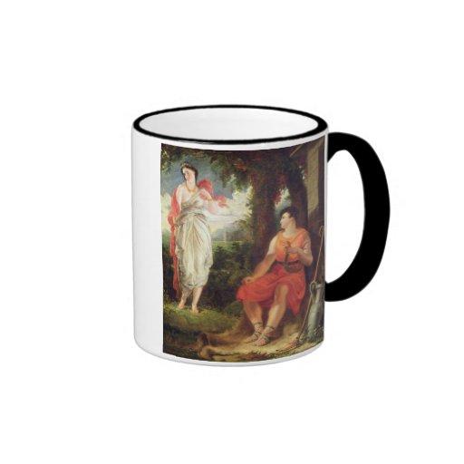 Venus y Anchises, 1826 (aceite en lona) Taza A Dos Colores