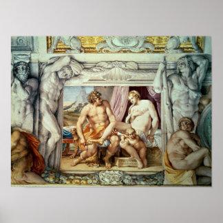 Venus y Anchises Póster