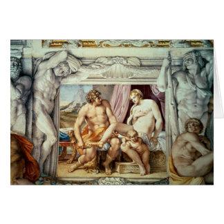 Venus y Anchises Tarjeta De Felicitación