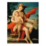 Venus y Cupid, 1785 Postales