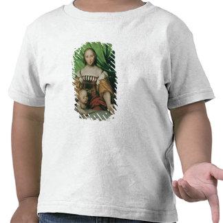 Venus y Cupid, c.1524 (aceite en limewood) Camiseta