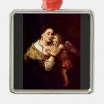 Venus y Cupid de Rembrandt Harmenszoon van Rijn Adorno De Reyes