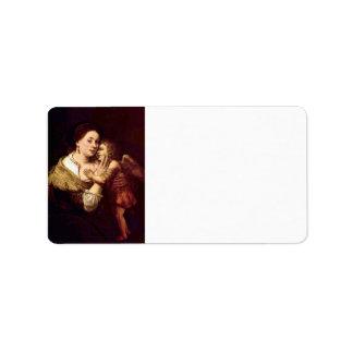 Venus y Cupid de Rembrandt Harmenszoon van Rijn Etiquetas De Dirección