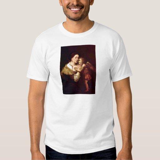 Venus y Cupid de Rembrandt Harmenszoon van Rijn Playeras