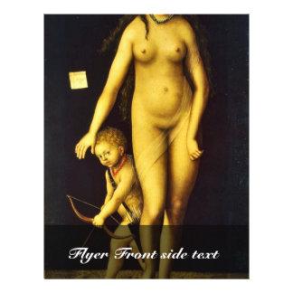 Venus y Cupid por Cranach D. Ä. Lucas (el mejor Qu Tarjeton