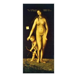 Venus y Cupid por Cranach D. Ä. Lucas (el mejor Qu Tarjeta Publicitaria Personalizada