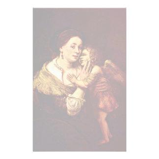 Venus y Cupid. Por la escuela de Rembrandt Papeleria