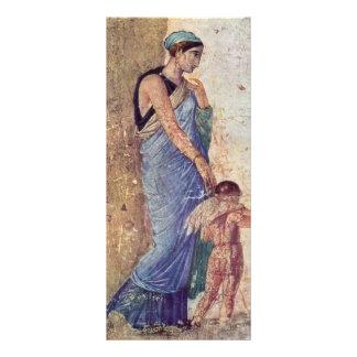 Venus y detalle castigado Cupid por Pompejanischer Diseño De Tarjeta Publicitaria