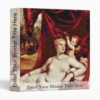 Venus y el jugador del laúd, por Tizian