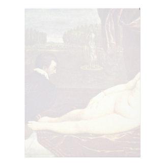 Venus y el jugador del órgano por Tizian Membrete