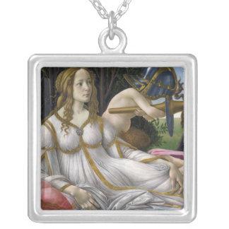 Venus y Marte, Sandro Botticelli Colgante Cuadrado