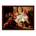 Venus y Vulcan de Tiepolo Juan Battista Postal