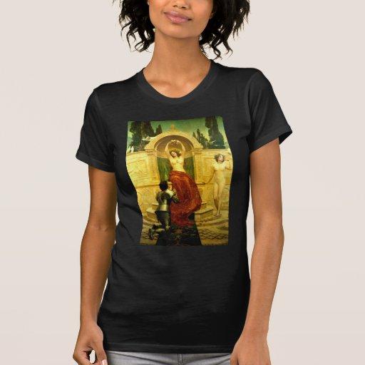 Venusberg Tannhäuser - Godward - pintura de la bel Camiseta