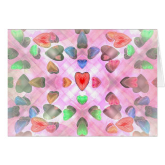 Venusian Hearts Card