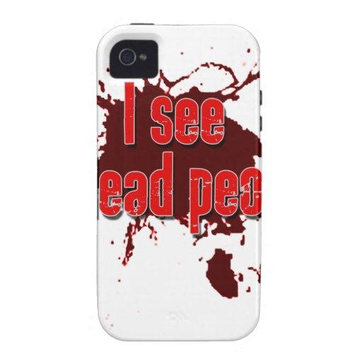Veo a gente de los Undead iPhone 4/4S Fundas