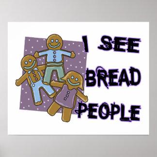 Veo a gente del pan póster