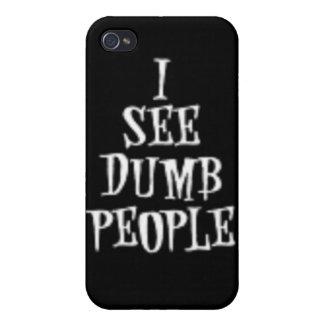 Veo a gente muda iPhone 4 cobertura