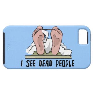 Veo a gente muerta funda para iPhone 5 tough