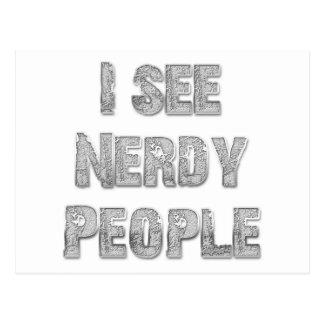 Veo a gente Nerdy Postal