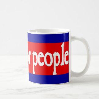 veo a gente pobre taza