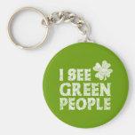 Veo a gente verde llaveros