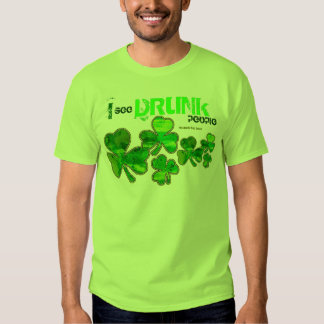 """""""Veo camisetas del día de St Patrick de la gente Playera"""