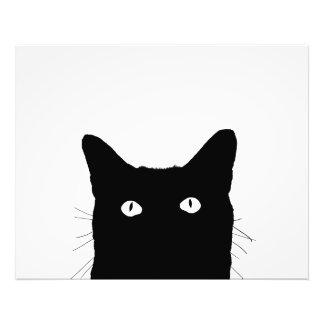 Veo el gato hacer clic para seleccionar su fondo arte fotografico
