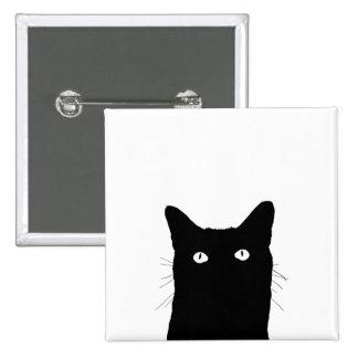 Veo el gato hacer clic para seleccionar su opción pin cuadrado