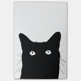 Veo el gato hacer clic para seleccionar su opción post-it® notas