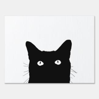 Veo el gato hacer clic para seleccionar un color señal
