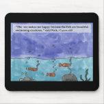Veo el mar al lado del kolohe Nick Mousepad del li Alfombrilla De Ratones