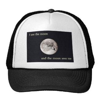 Veo la luna gorro