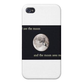 Veo la luna iPhone 4 coberturas