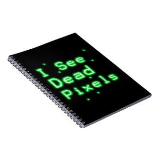 Veo los pixeles muertos note book