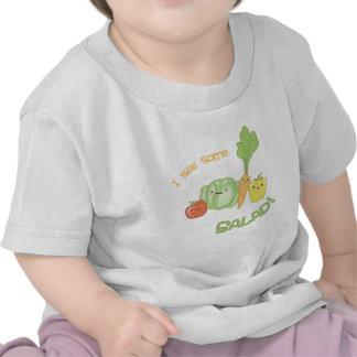 ¡Veo un poco de ensalada! Camisetas