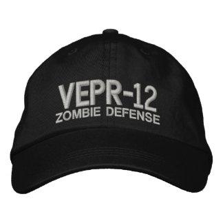 Vepr 12 - Defensa del zombi Gorras De Beisbol Bordadas
