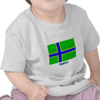Vepsia flag with name tshirts