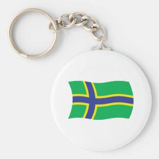 Vepsians Flag Keychain