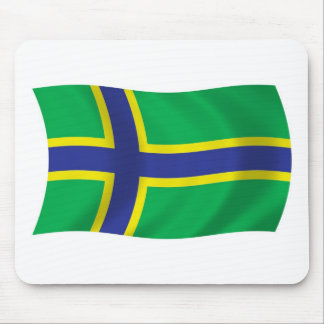 Vepsians Flag Mousepad