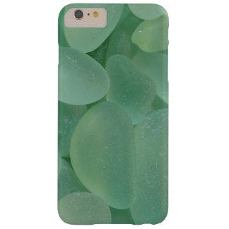 Ver el caso de cristal del iPhone 6 del mar Funda Barely There iPhone 6 Plus