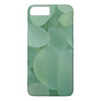 Ver el caso de cristal del iPhone 6 del mar Funda iPhone 7 Plus