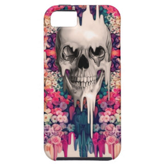 Ver el cráneo de fusión del azúcar del color iPhone 5 protectores