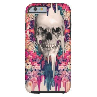 Ver el cráneo de fusión del azúcar del color funda de iPhone 6 tough