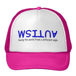 Ver el mundo de un diverso ángulo (azul 2) gorras