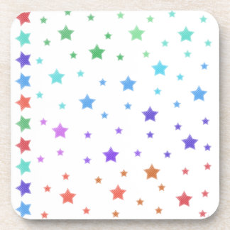 Ver las estrellas posavasos de bebida