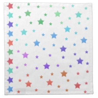 Ver las estrellas servilletas de papel